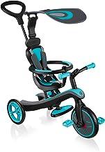 Globber Trike Explorer 4-in-1 driewieler en loopfiets, blauw