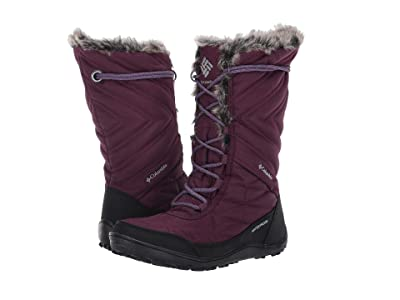 Columbia Minx Mid III (Black Cherry/Plum Purple) Women