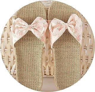 Summer Linen Slippers Women Casual Indoor Floor Shoes Home Flip Flops