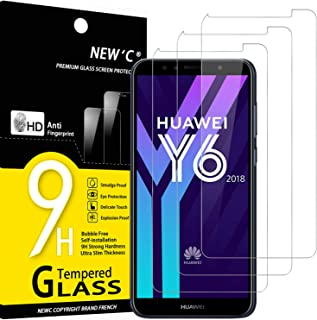 Sans Bulles Protection en Verre Tremp/é /Écran pour Huawei Honor 7A 99/% Transparent 2 Pi/èces Bear Village/® Verre Tremp/é pour Huawei Honor 7A Duret/é 9H