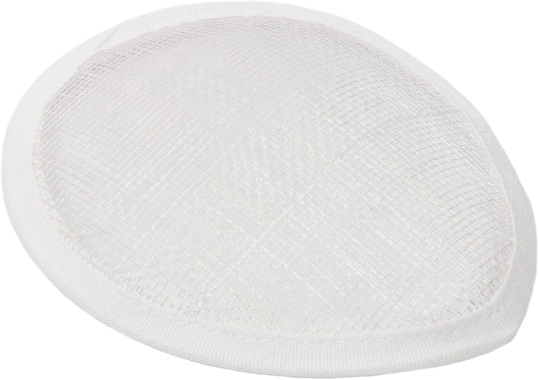 Humboldt Haberdashery Sinamay Teardrop Fascinator Hat Base for Millinery 5 1/2