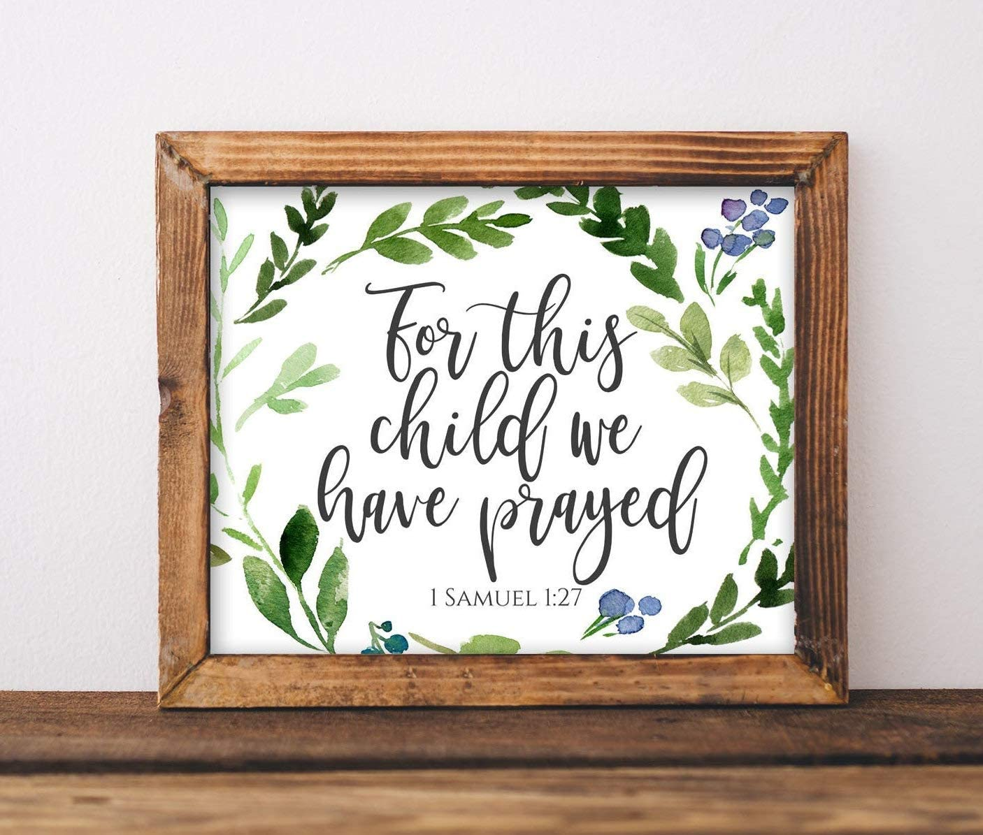 Wini2342ckey Wood Decor Max 60% OFF Sign Nursery This Chi for trust Printable Art