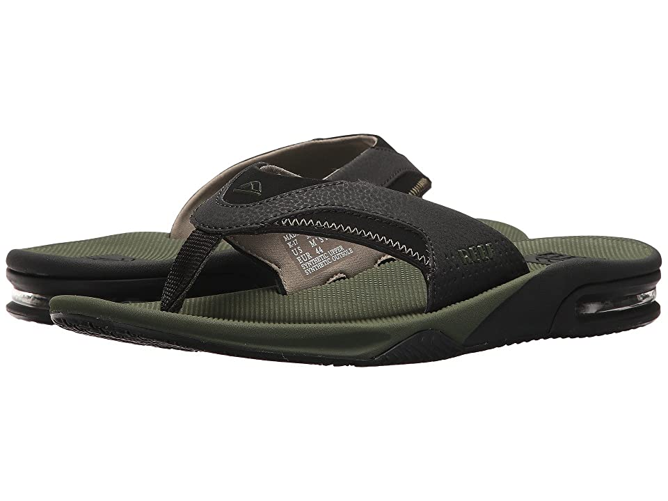 Reef Fanning (Olive/Black) Men