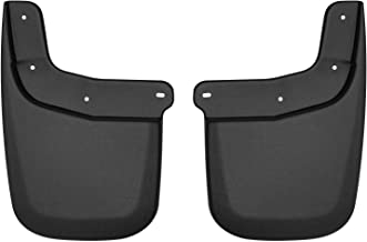 Husky Liners 59231 Black Mud Guards - Rear Fits Chevrolet Colorado, 2015-19 GMC Canyon-Without Fender Flares or Cladding
