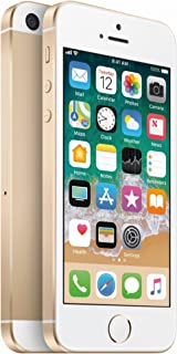 Điện thoại di động Apple – Apple iPhone SE, 64GB, Gold –  For AT&T / T-Mobile (Renewed)
