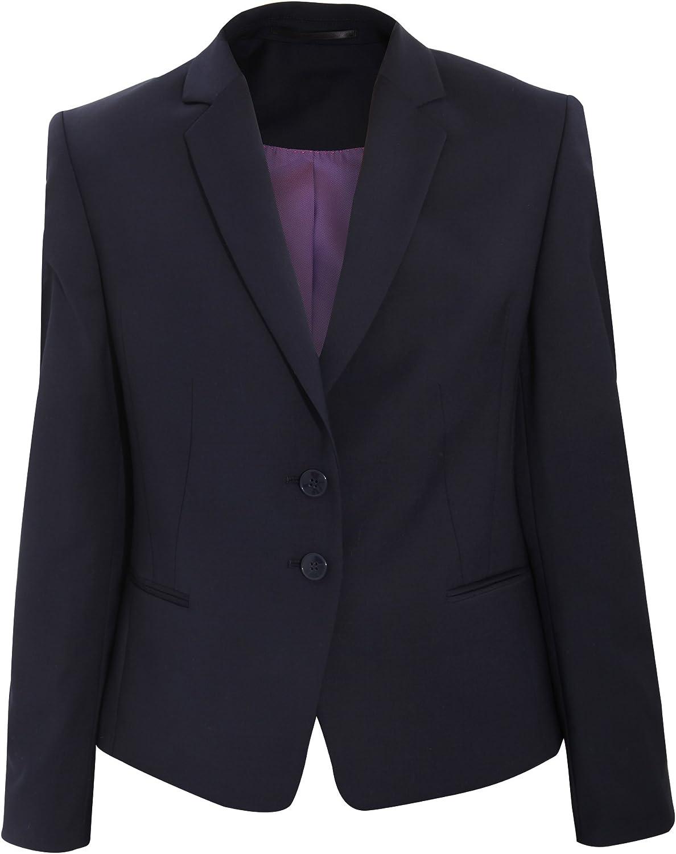 Brook Taverner Womens Calvi Slim Fit Work Suit Jacket