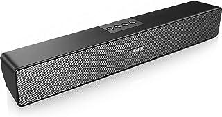 Computer Speakers, SAKOBS Bluetooth 5.0 Wireless PC Sound Bar, Stereo USB Powered 20W Computer Sound Bar for Desktop Lapto...