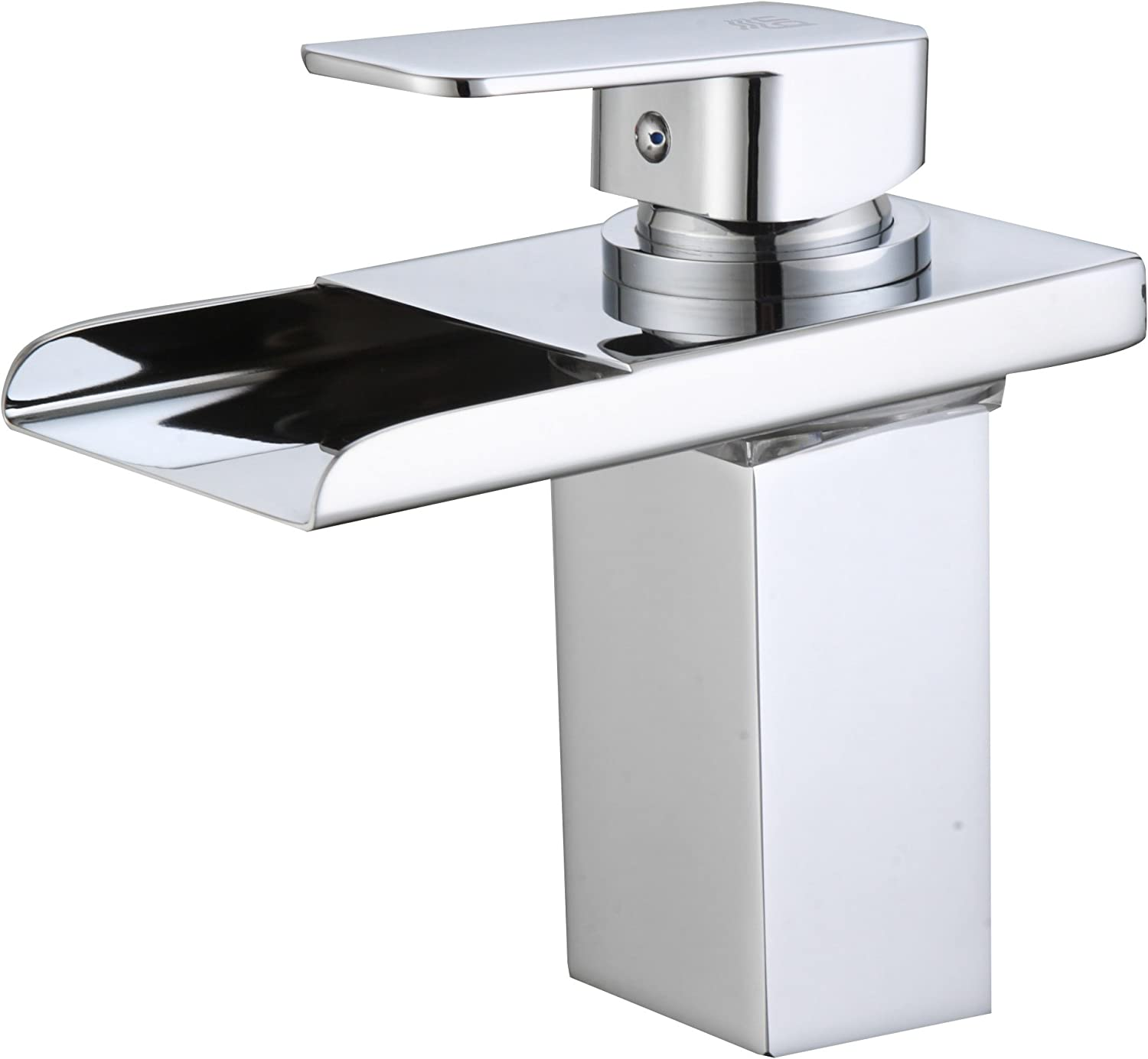 DP Bath Aries- Basin mixer tap, waterfall effect with LEDs
