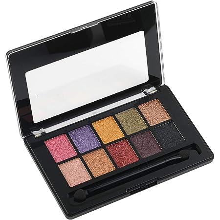 Swiss Beauty Arte Mousse 10 Color Eyeshadow Palette, Eye MakeUp, Multicolor-02, 12g