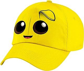 Yewllow Aisoway Kids Children Trucker Hat Boy Snapback Sun Baseball Cap Smiley Face Trucker Caps for Kids Yellow