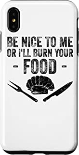 iPhone XS Max Funny Cooking Cook Gift For Culinary Chef Men Women Baker Case