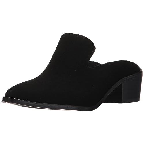 67d4e22ad775f Black Suede Mules: Amazon.com