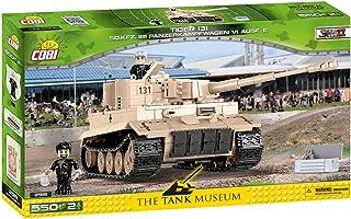 COBI The Tank Museum Collection Tiger 131 Sd.Kfz. 181 Panzerkampfwagen VI Ausf. E