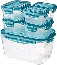 AmazonBasics 6pc Airtight Food Storage Set,Multicolour