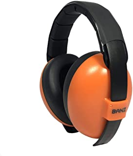 Banz Mini Earmuff Protection Set, Orange, Mini