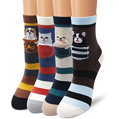 Ambielly cotone calzini termici dei calzini adulti Unisex Calze