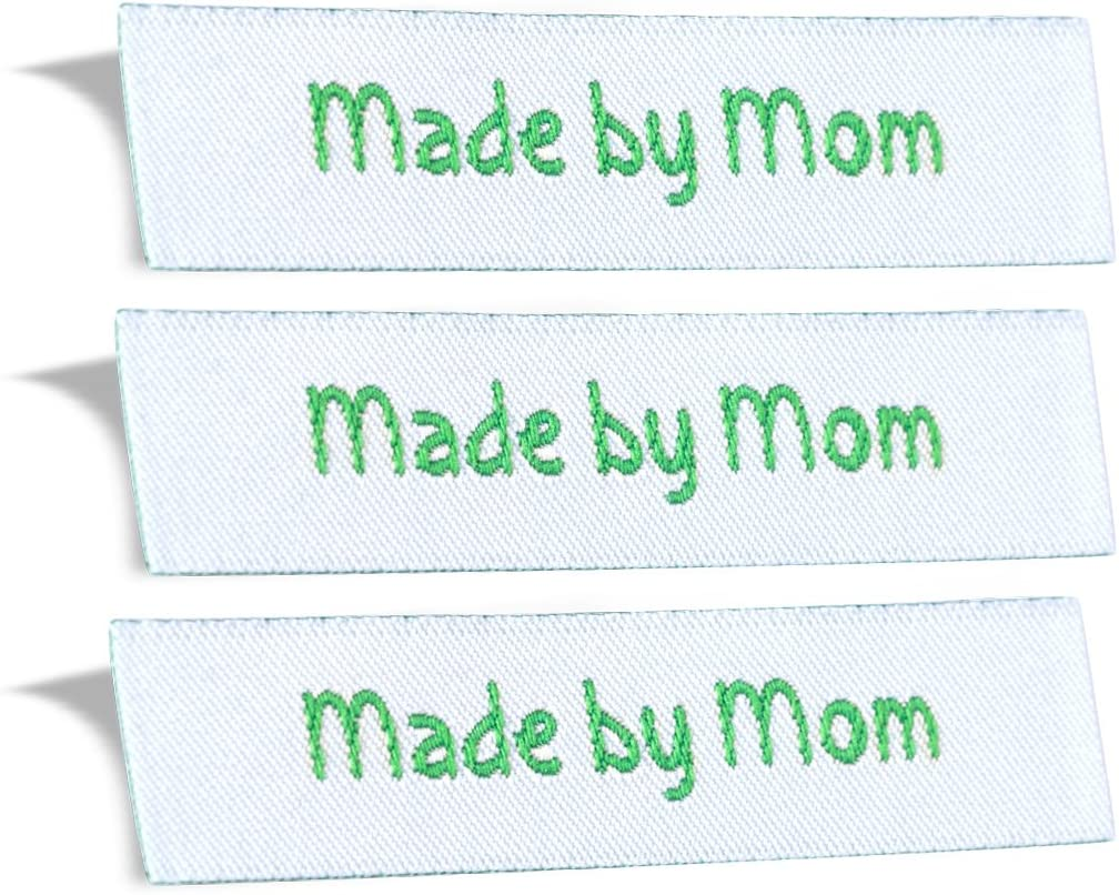 Wunderlabel shopping Made by Mom Mother Crafting Woven Fashion Ribbon Direct store Rib