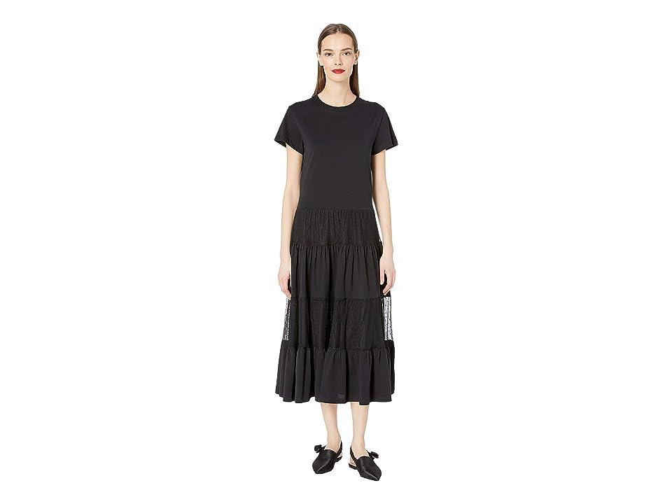 RED VALENTINO Dress RR3MJ00TEMB (Black) Women