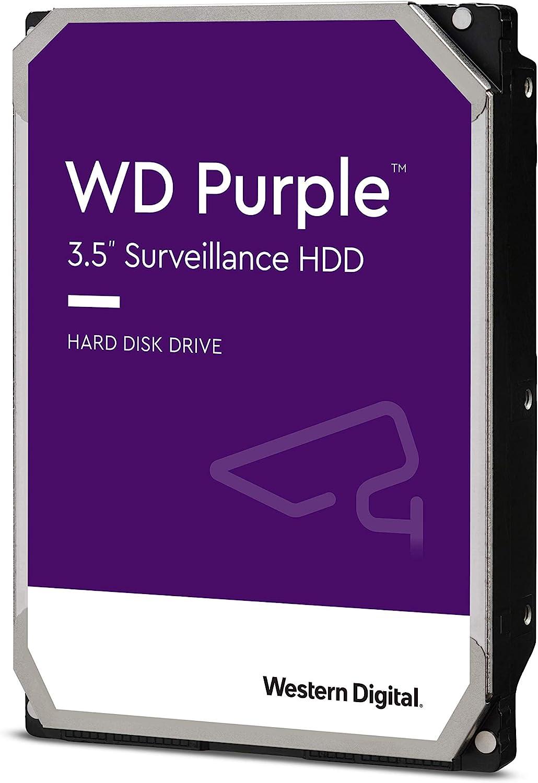 Disco rigido Western Digital 2TB WD Purple 3.5 5400 RPM