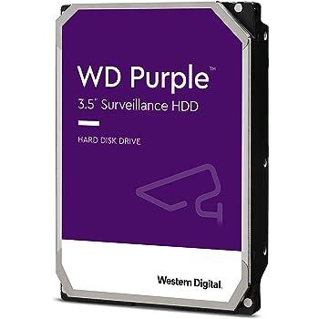"""Western Digital 1TB WD Purple Surveillance Internal Hard Drive - 5400 RPM Class, SATA 6 Gb/s, , 64 MB Cache, 3.5"""" - WD10PURZ"""