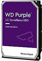 WESTERN DIGITAL 4TB Hard Drive for CCTV Surveillance, Purple