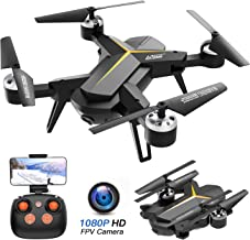 $59 » KOOME Foldable Drone with 1080P HD Camera for Adults and Kids, 2.4Ghz RC Quadcopter with Altitude Hold, Gravity Sensor, One Key Start/Land/Return, Easy to Fly for Beginners, Long Control Range