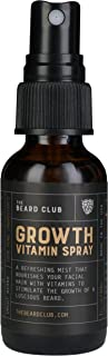 The Beard Club | Beard Growth Vitamin Spray | #1 Beard Growth Product Manufacturer in America | Paraben-Free Beard Care