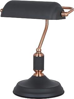 ILUMINATION DE DESIGN Lampe de table, 9 W, noir