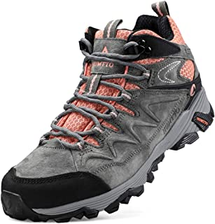 Hiking Boots for Women Breathable Climbing Trekking Shoes Outdoor Sports High-Top Traveling Sneakers