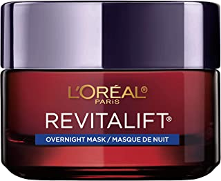 Night Mask Moisturizer, L'Oreal Paris Revitalift Triple Power Intensive Overnight Face Mask with Pro Retinol, Vitamin C an...