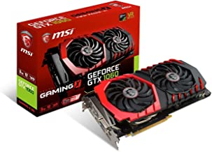 MSI GAMING GeForce GTX 1060 3GB GDRR5 192-bit HDCP Support DirectX 12 Dual TORX 2.0 Fan VR Ready Graphics Card (GTX 1060 GAMING X 3G)