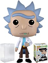 RICK AND MORTY Funko Pop! Animation Rick Vinyl Figure (Bundled with Pop Box Protector CASE)