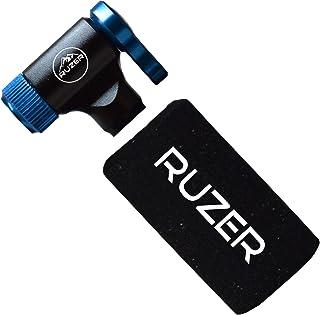 comprar comparacion RUZER© Inflador rápido y fácil Presta & Schrader válvula Compatible para Bicicleta Bomba 12 g, 16 g, 20 g y 25 g