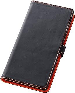 レイ・アウト Xperia Z3 ケース (SO-01G / SOL26 / 401SO) 純正卓上ホルダ対応 ブックカバータイプ ブラック RT-SO01GLBC1/B