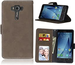 ASUS ZenFone 3 Deluxe ZS550KL Case, Love Sound [Wallet Stand] [Scrub Series] PU Leather Wallet Flip Protective Case Cover with Card Slots for ASUS ZenFone 3 Deluxe ZS550KL 5.5 inch - Brown