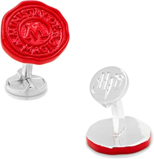 Harry Potter Ministry of Magic Wax Stamp Cufflinks, Officially Licensed