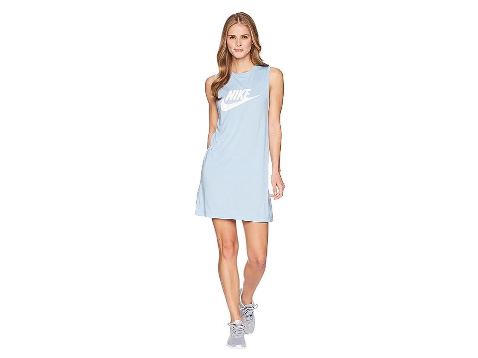 Nike Seasonal Tank Dress (Leche Blue/White) Women
