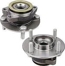 Bodeman - Pair 2 Front Wheel Hub & Bearing Assembly for 2009-2014 Nissan Cube 2007-2012/ Nissan Versa 4-Wheel ABS