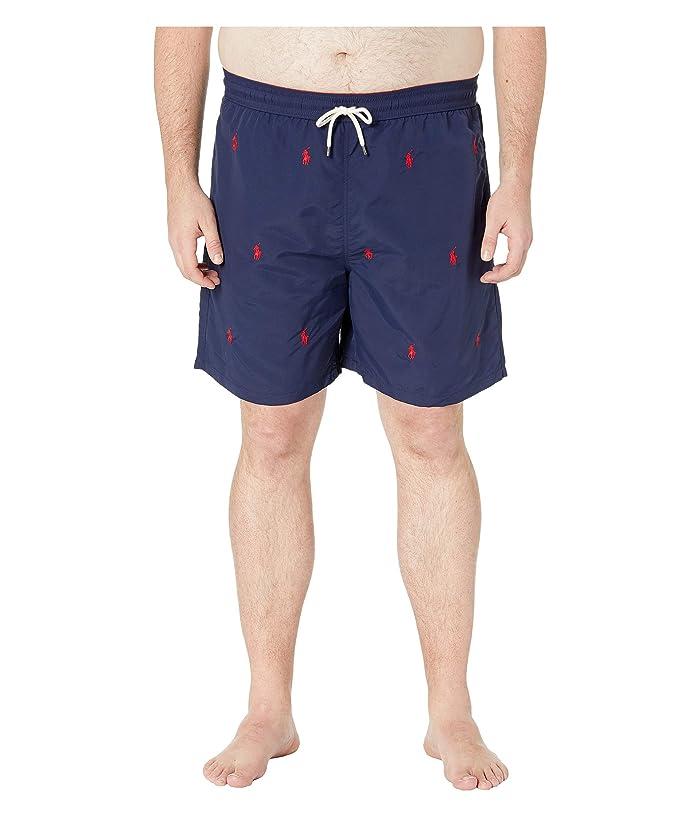 Polo Ralph Lauren Big & Tall Big Tall Traveler Swim Trunks (Newport Navy/Aoe) Men