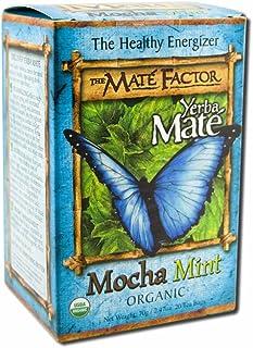 The Mate Factor Organic Yerba Mate Mocha Mint - 20 Tea Bags
