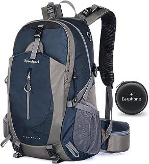 Hiking Backpack 40L Waterproof Lightweight Hiking Daypack Trekking Camping Outdoor Sport Travel Backpacks for Men Women (R...