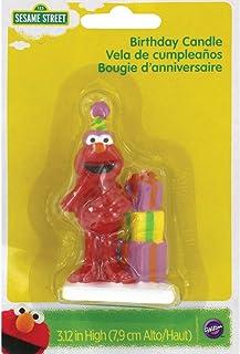 Wilton 2811-3464 Elmo Birthday Candle