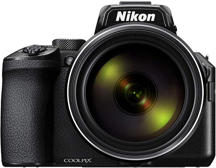 Fotocamera digitale, sensore cmos 16,79 mp, zoom ottico 83x, filmati 4k nikon coolpix p950 VQA100EA