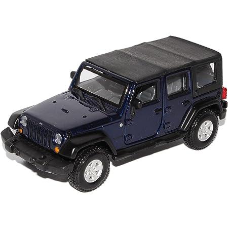 Welly Diecast Metall Modellauto 1 36 39 Jeep Wrangler Rubicon Schwarz Neu Und Box Spielzeug