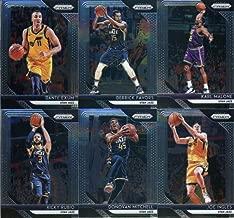 2018-19 Panini Prizm Basketball Utah Jazz Team Set of 11 Cards with rookies: Karl Malone(#75), Grayson Allen(#123), Ricky Rubio(#133), Donovan Mitchell(#143), Joe Ingles(#153), Dante Exum(#163), Derrick Favors(#173), Jae Crowder(#183), John Stockton(#185), Rudy Gobert(#193), Alec Burks(#203)