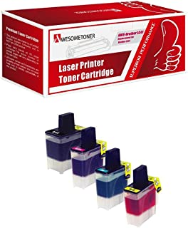 Awesometoner Compatible Ink Cartridge Replacement for Brother LC41 use with FAX1840C, 1940CN, 2440C, MFC210C, 420CN, 620C...