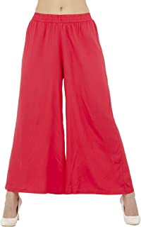 Women Plazo Plazzo Bottom Wear Ethnic Palazzo Pants Trousers With Kurti Kurtis Kurta By Lagi.