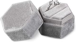 wedding ring box velvet
