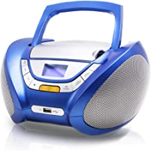 Lauson CP546 Portable Stereo Boombox CD Player with Radio | USB & MP3 Player |..