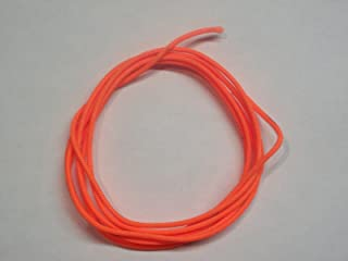 60X Custom Strings Flo Orange BCY #24 D Loop Rope Release Material 5'